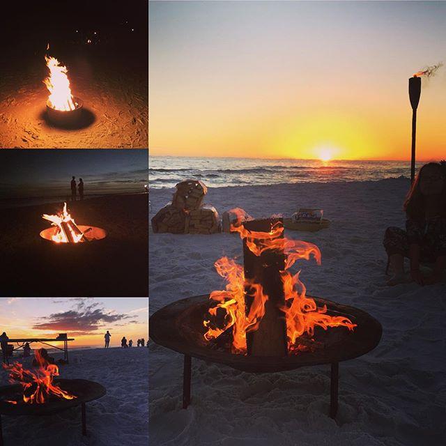 30a Beach Bonfire