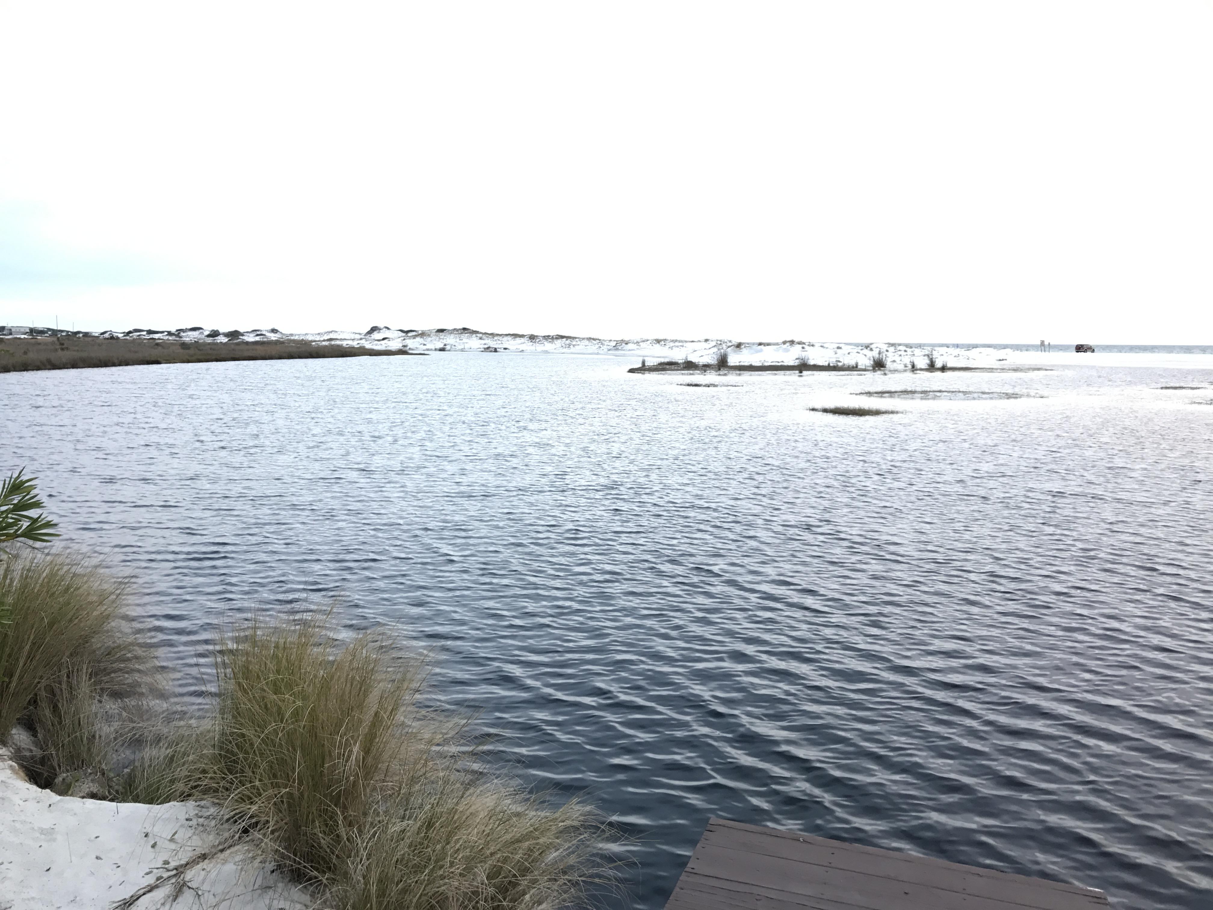 lake by the ocean