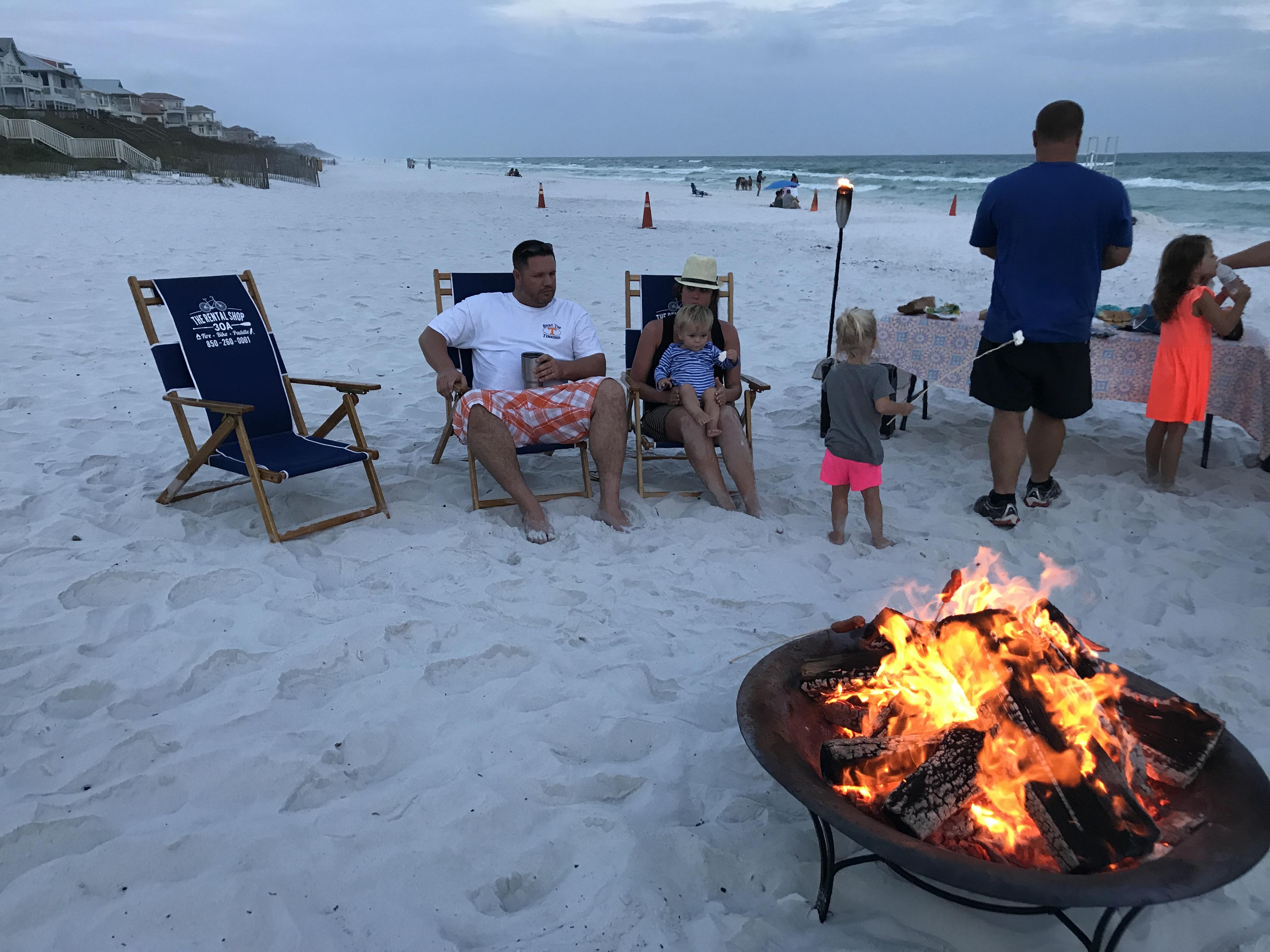 Santa Rosa Beach Bonfires by The Rental Shop 30A