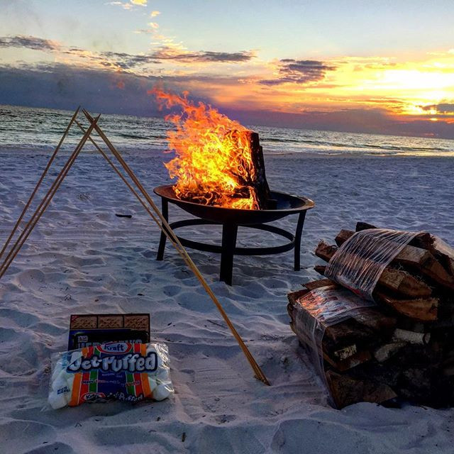 Standard Fire Pit Beach Bonfire Package 1