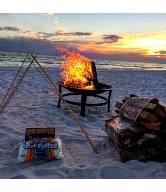 Standard Fire Pit Beach Bonfire Package 1