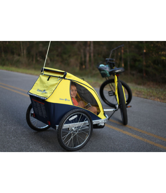 Double Toddler Bike Trailer Rental