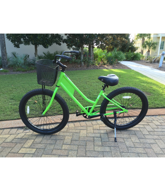 Aluminum Beach Cruiser Bike Rental-W/Basket