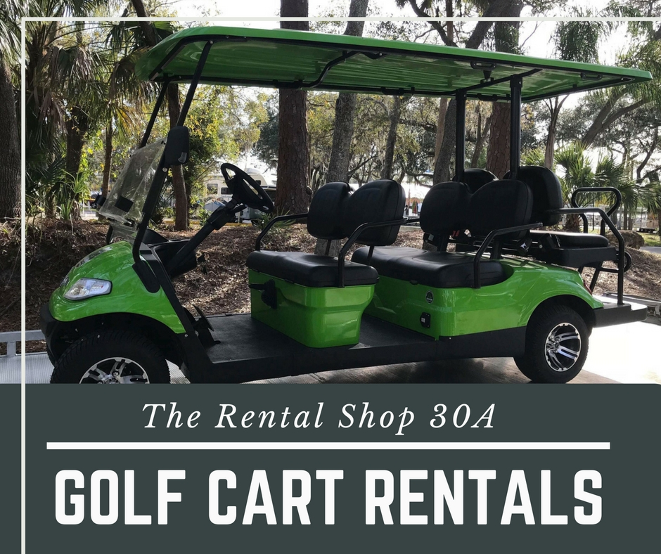 30A Electric Golf Cart Rental