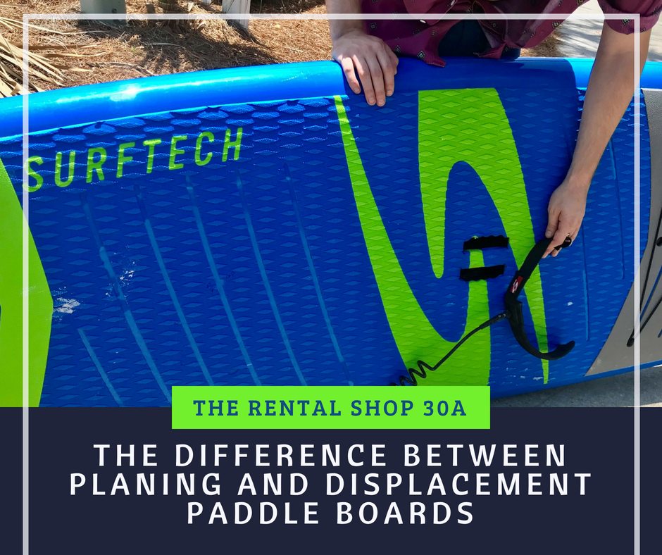 The Difference Between Planing and Displacement Paddle Boards