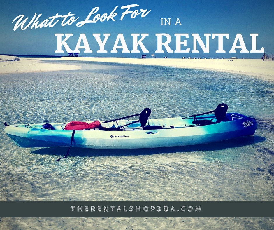 Rent a Kayak on 30A