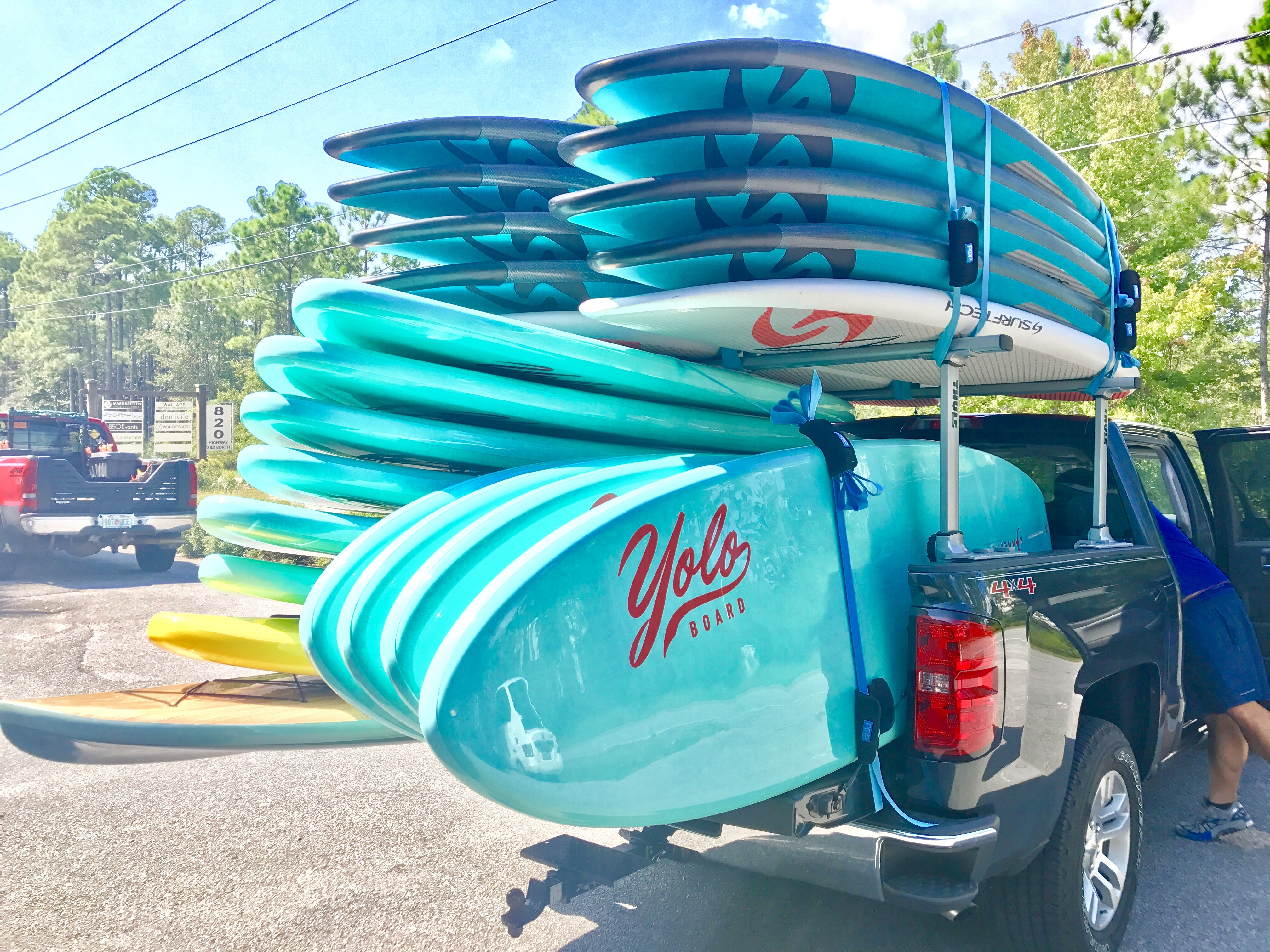 The Rental Shop 30A New surftech and Yolo Paddle Board Rentals in Santa Rosa Beach FL