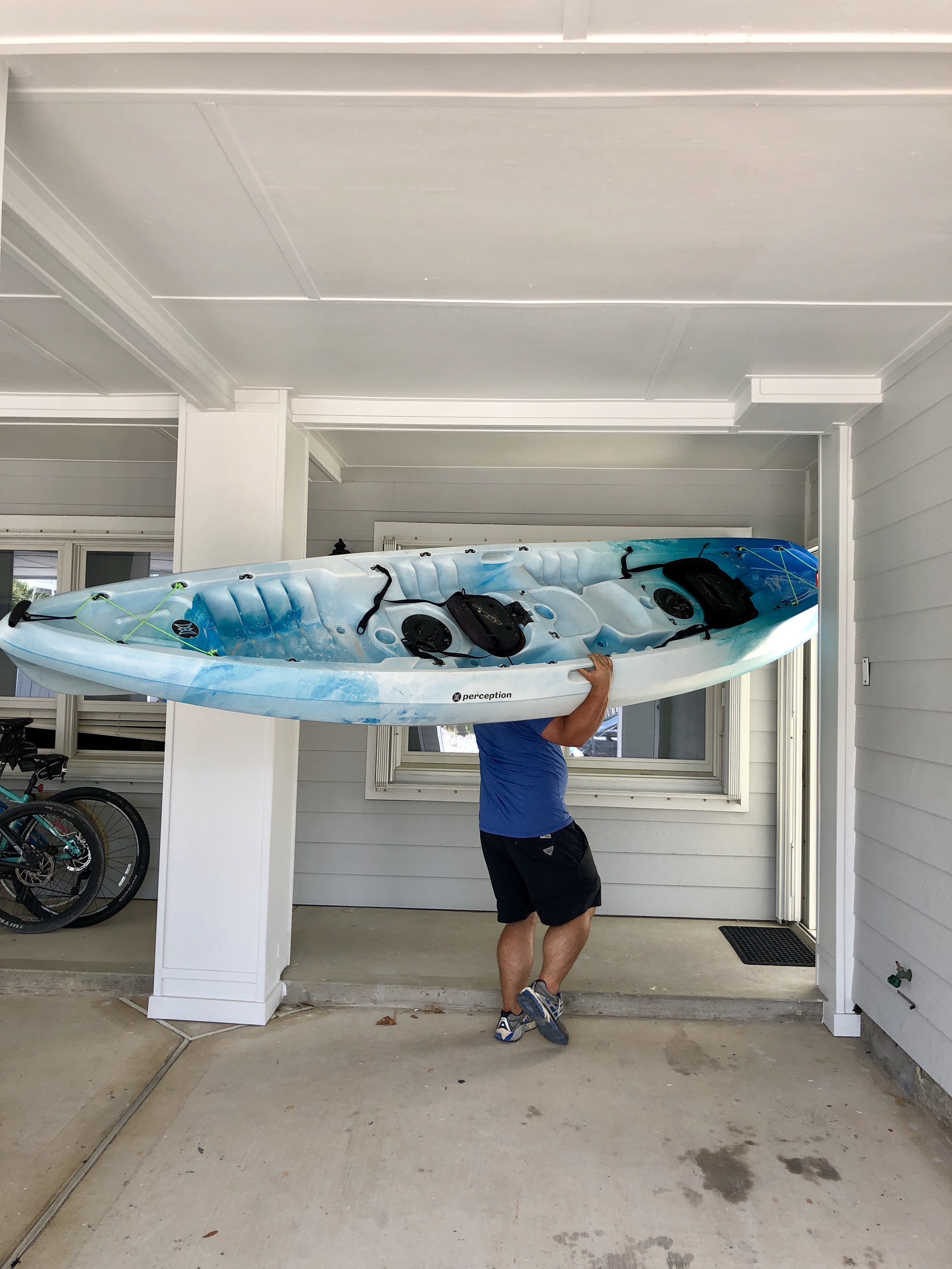 The Rental Shop 30A Rents perception tribe kayaks